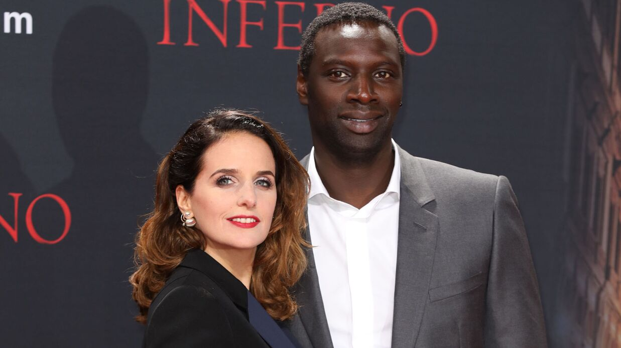 photos omar sy et sa femme h l ne ultra chics l avant premi re d in ferno voici. Black Bedroom Furniture Sets. Home Design Ideas
