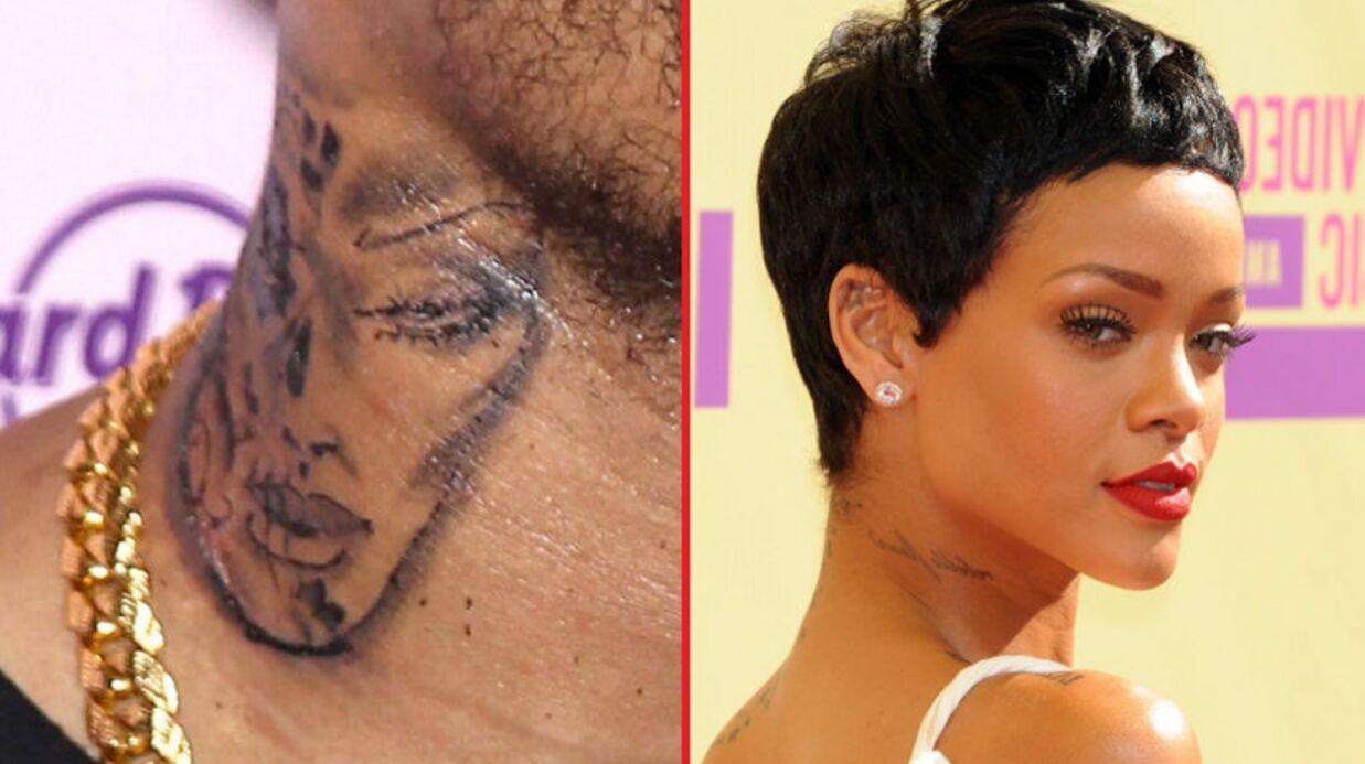 tatouage rihanna raté