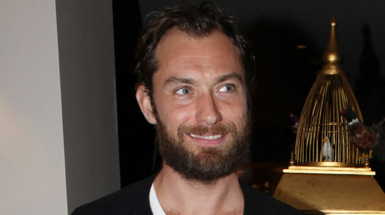 LOOK Jude Law et sa grosse barbe noire