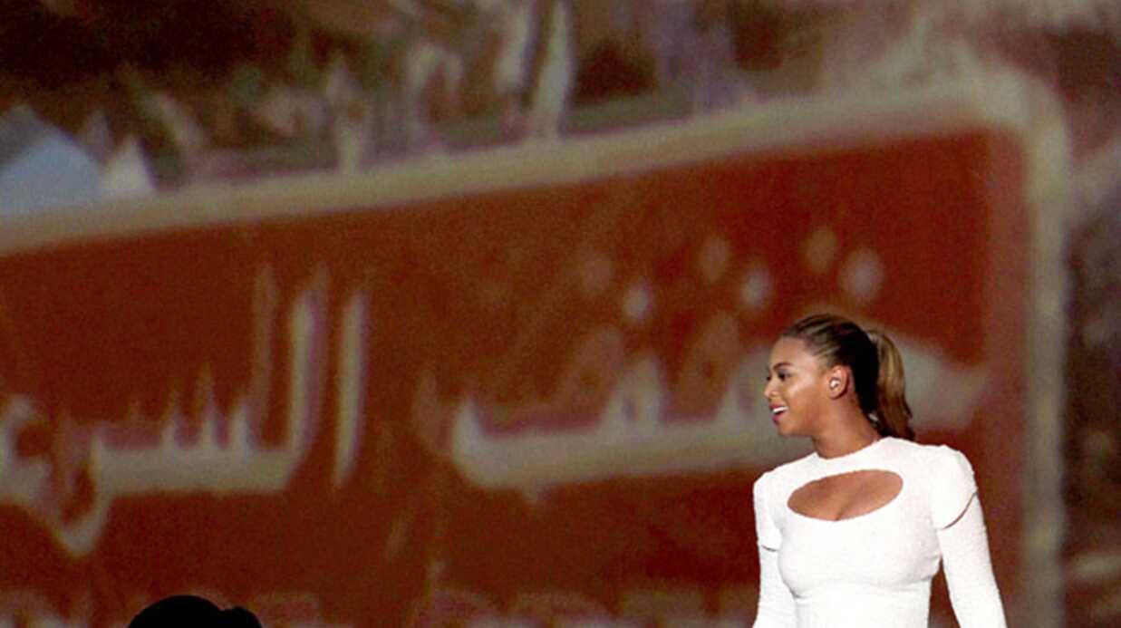 PHOTOS Beyoncé sobre et sexy pour l'ONU