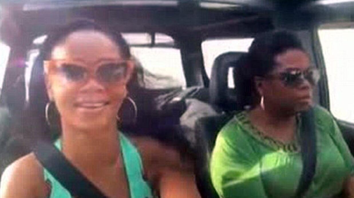 Rihanna en larmes quand elle évoque Chris Brown