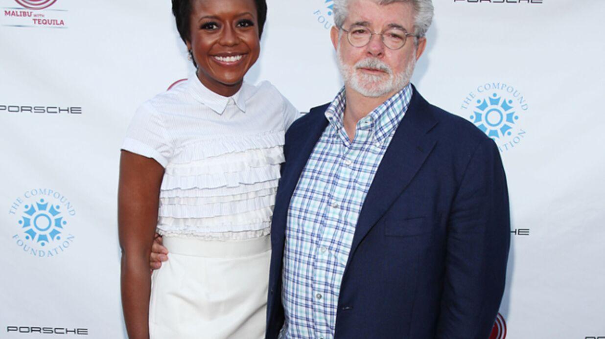 George Lucas et Mellody Hobson ont eu un bébé