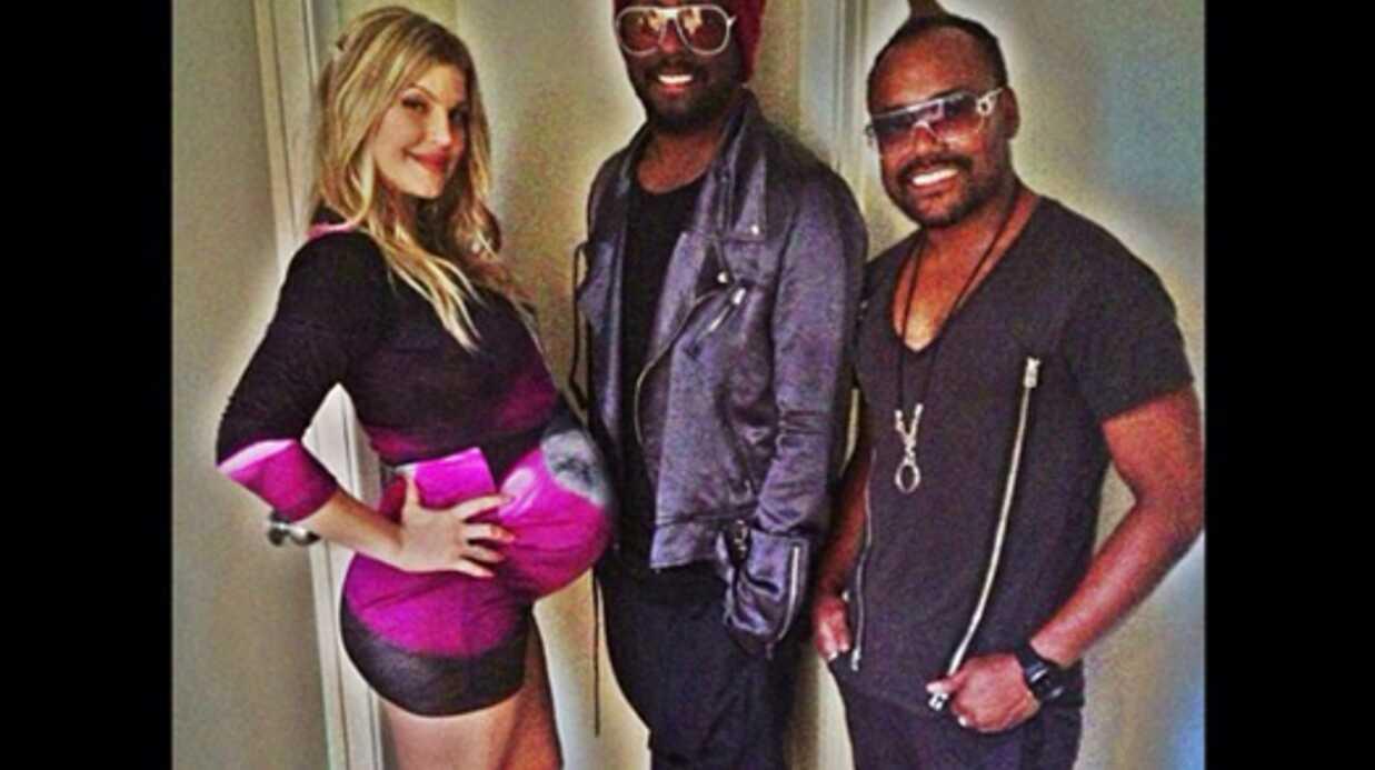 PHOTOS La deuxième babyshower de Fergie avec ses copains des Black Eyed Peas