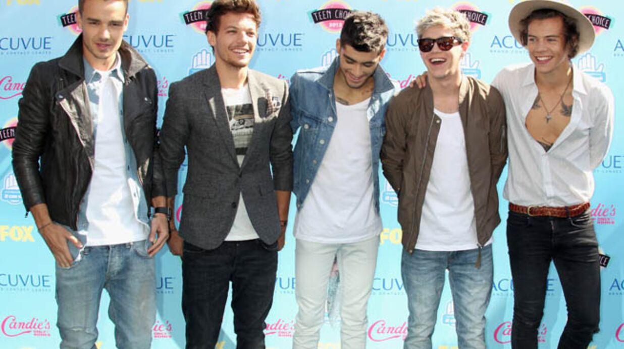 VIDEO One Direction: pas question de quitter leur concert avant la fin