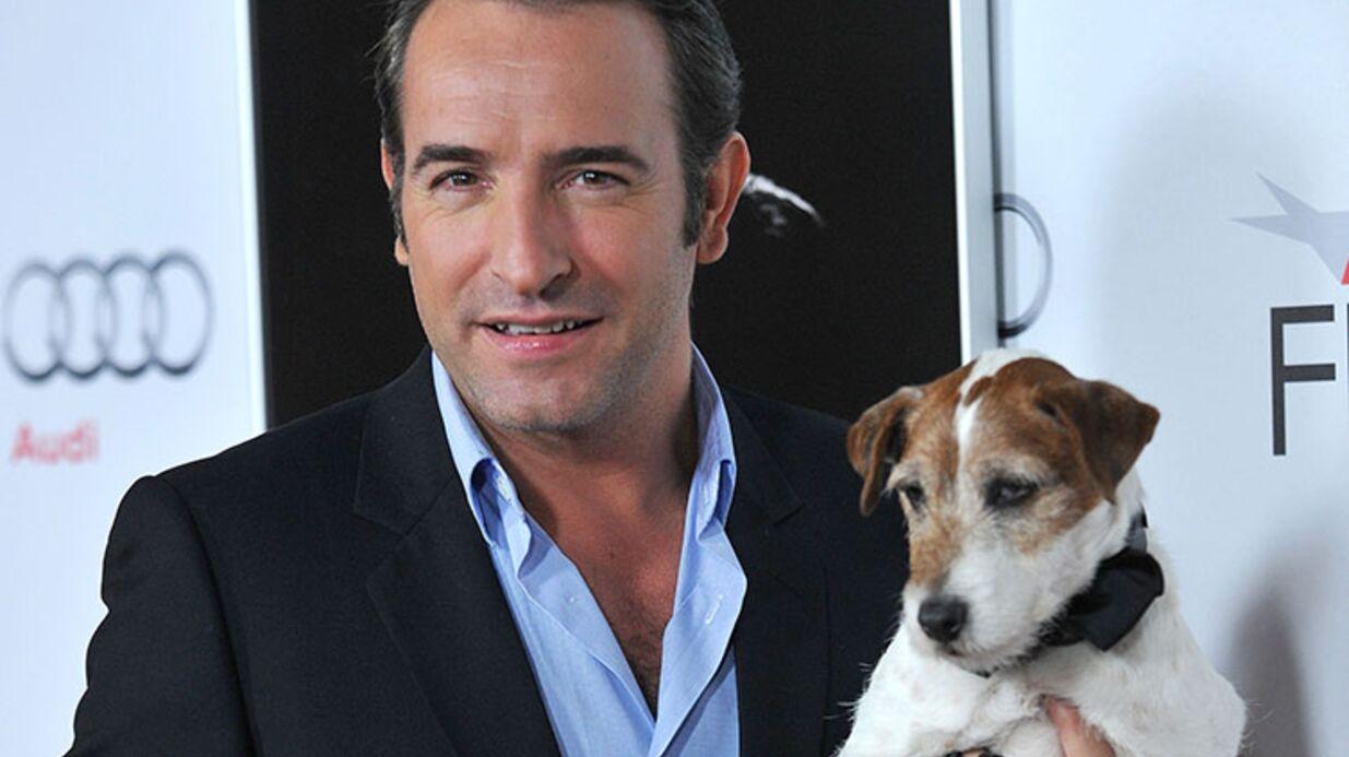 Mort d'Uggie: Jean Dujardin rend un émouvant hommage au chien de The Artist