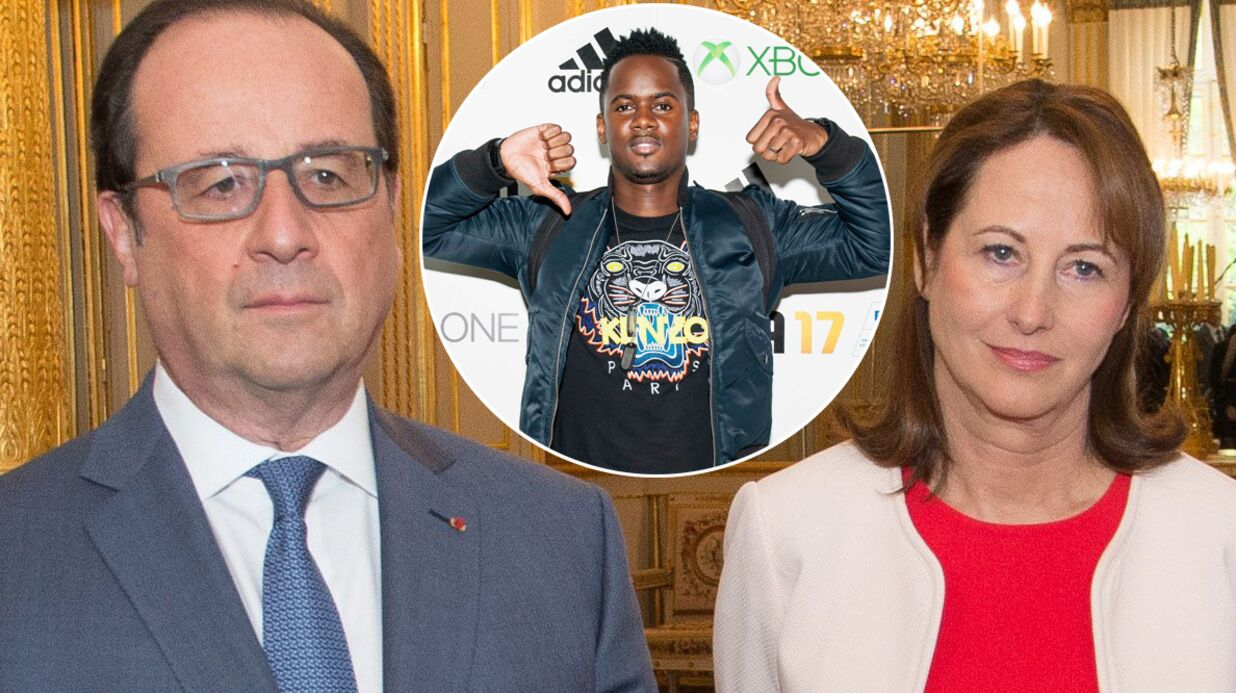 François Hollande et Ségolène Royal à fond lors d'un live de Black M: la vidéo qui buzze