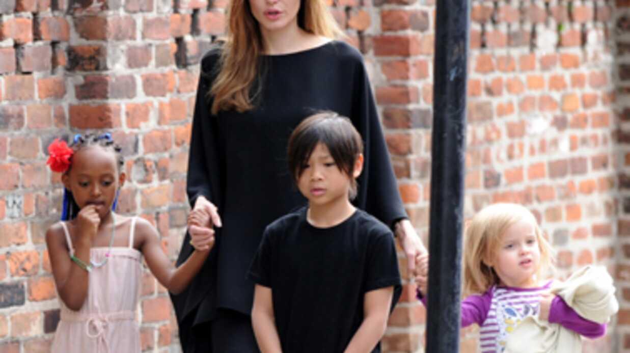 A 4 ans, la fille d'Angelina Jolie touche 3000 dollars la semaine pour un tournage