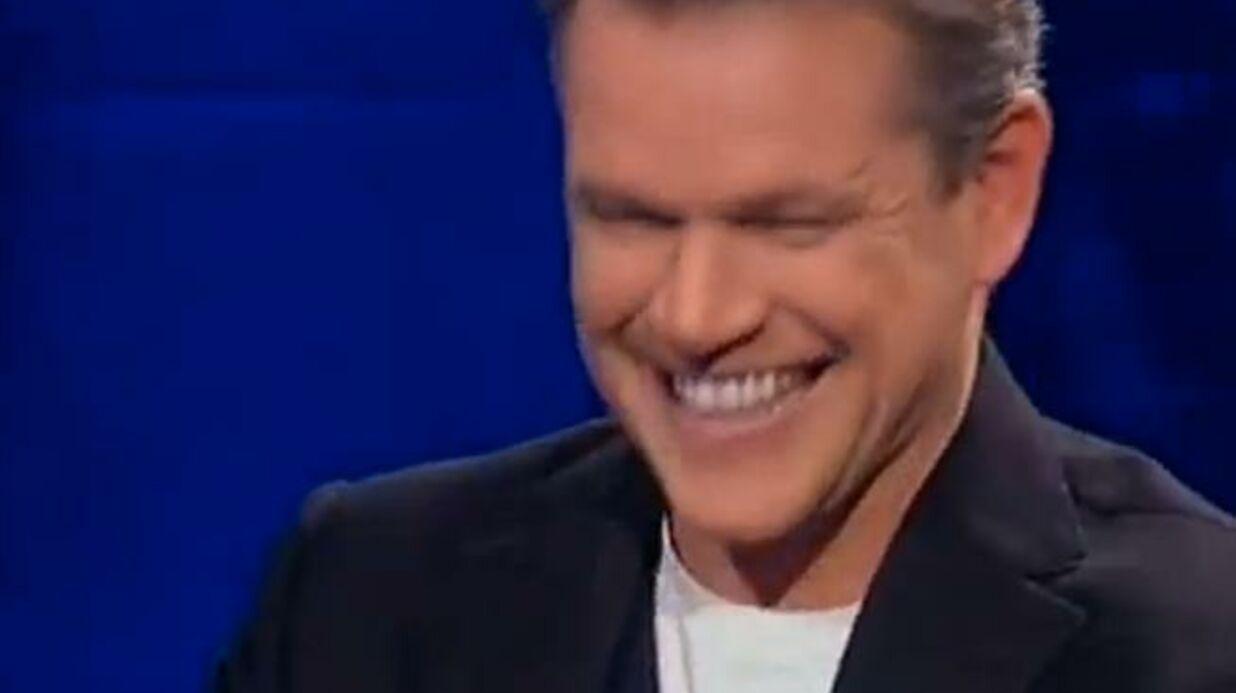 VIDEO Matt Damon et George Clooney hilares devant Jean Dujardin et sa tête de chameau