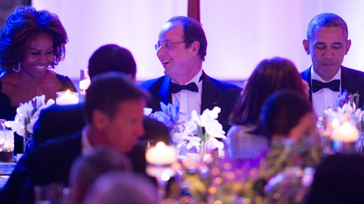 François Hollande dîne avec les Obama, Mary J. Blige chante un titre d'une cruelle ironie