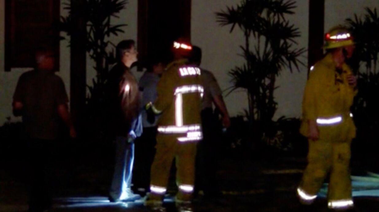 PHOTOS Pierce Brosnan en panique: un incendie touche sa maison