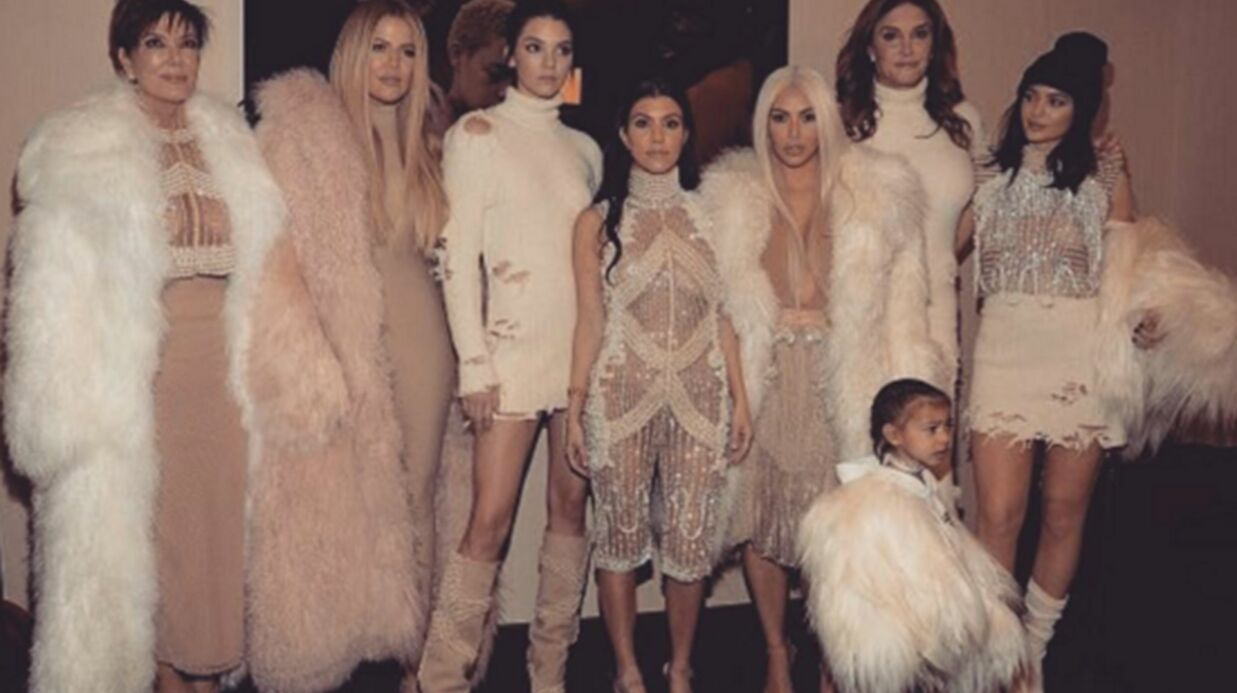 PHOTOS Kanye West : les Karda­shian au grand complet (même Lamar Odom) ! pour son défilé à la fashion week