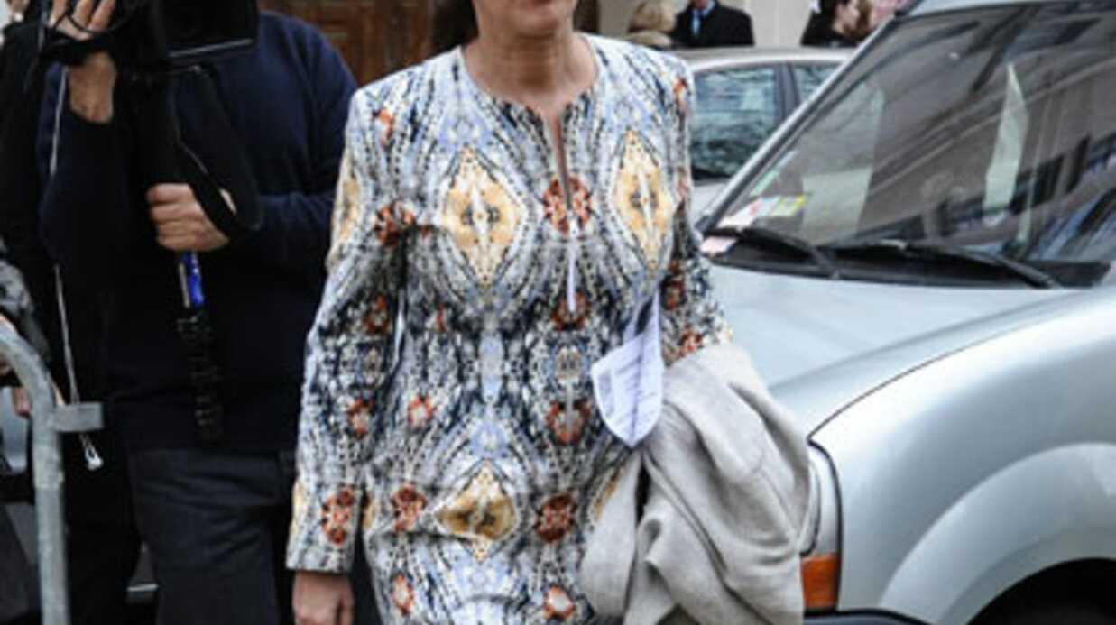LOOK Ségolène Royal au QG de campagne de François Hollande