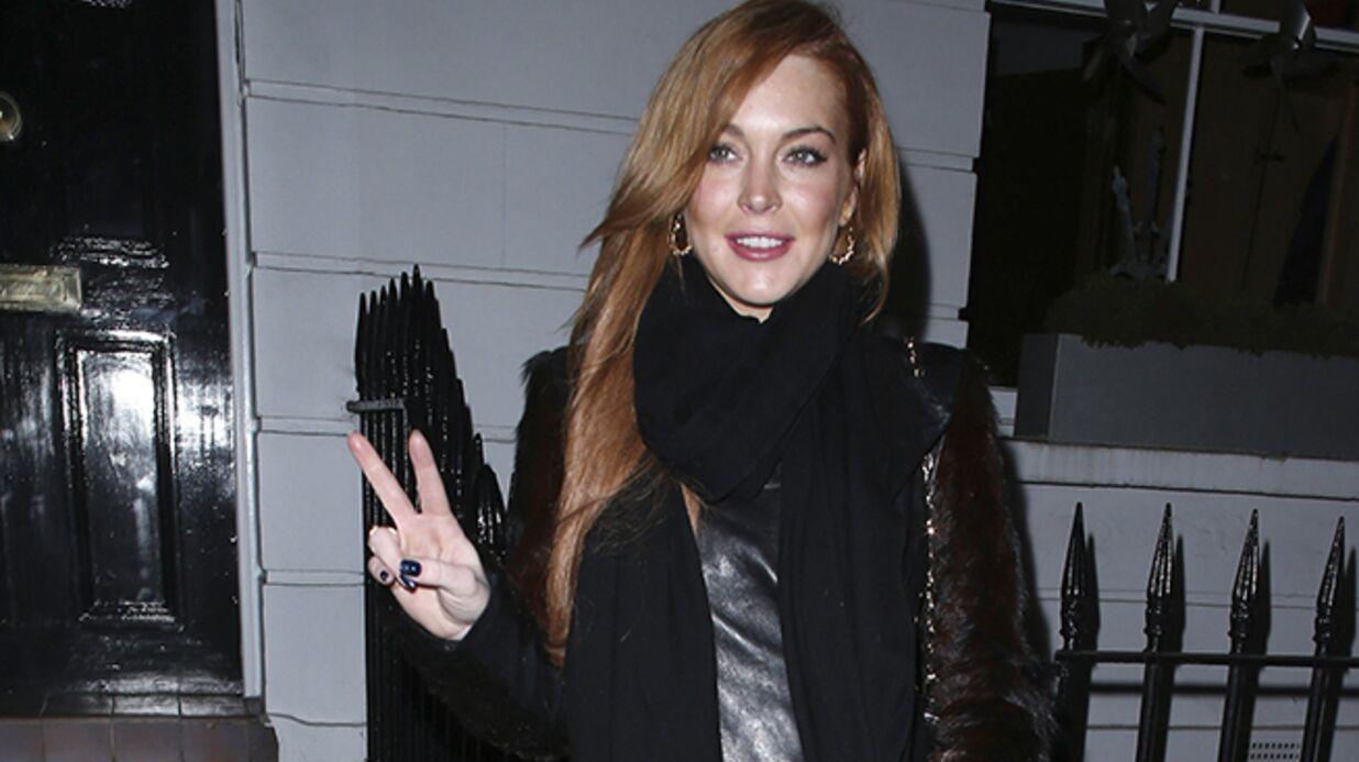 DIAPO Quand la police londonienne préfère escorter Lindsay Lohan