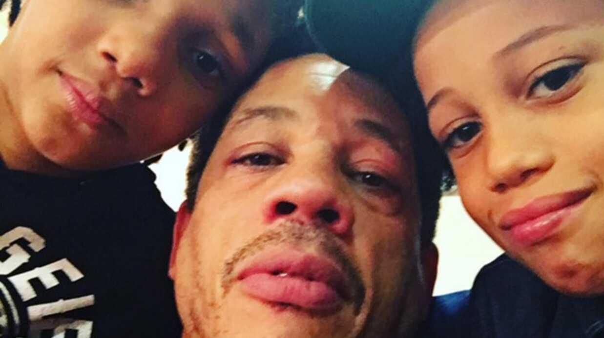 PHOTO JoeyStarr poste une photo de lui avec ses adorables fils