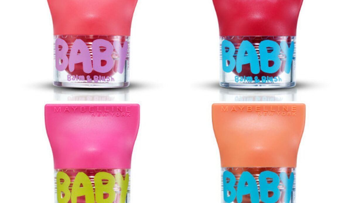 Gemey Maybel­line réin­vente ses Baby Lips