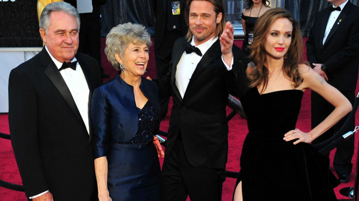 Brad Pitt: sa mère et Angelina Jolie se disputent