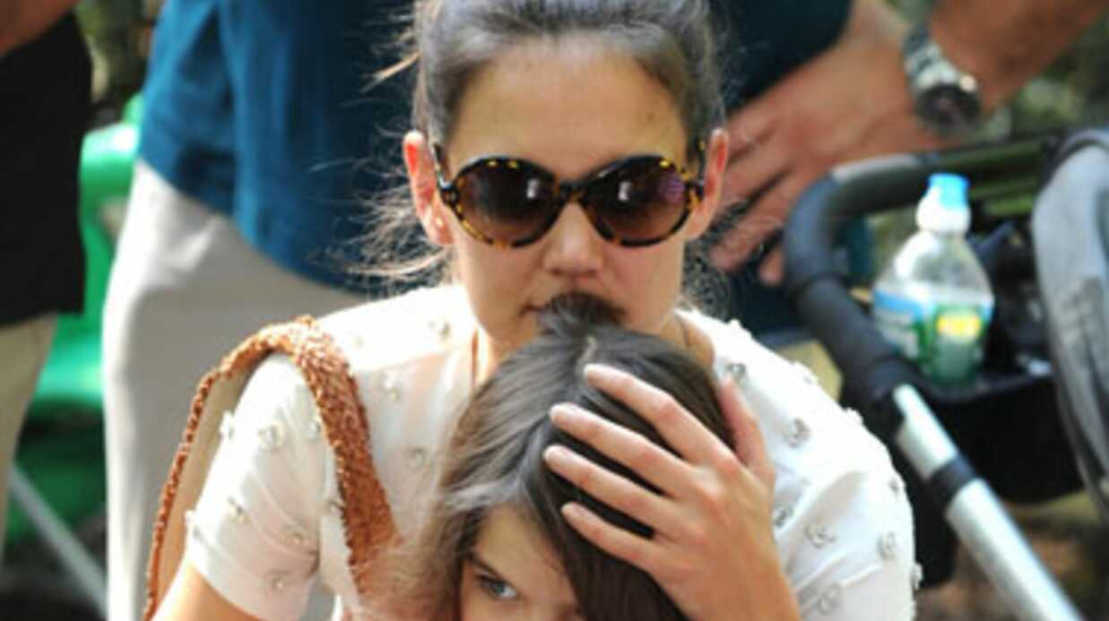 VIDEO Katie Holmes et Suri Cruise entre filles au zoo de Central Park