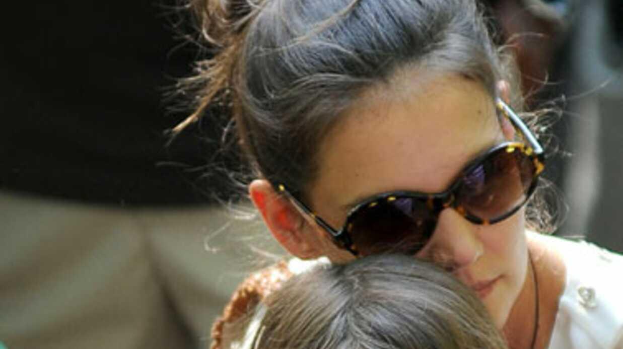 VIDEO Katie Holmes et Suri Cruise entre filles au zoo de Central Park