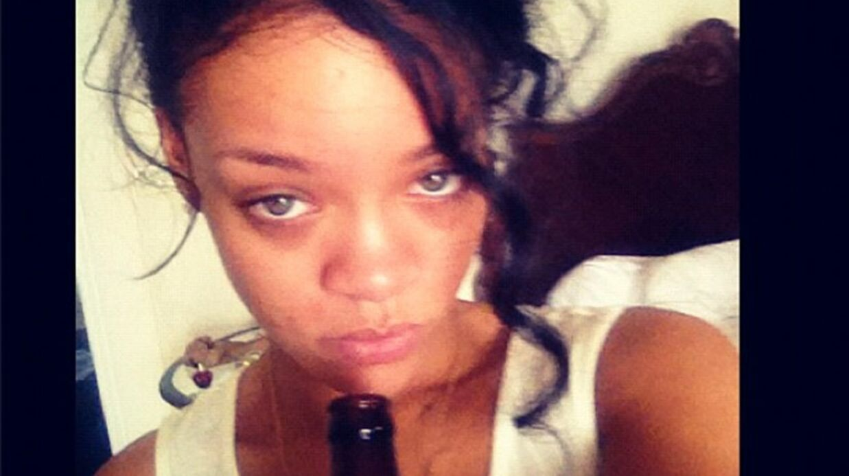Rihanna noie son chagrin dans l'alcool