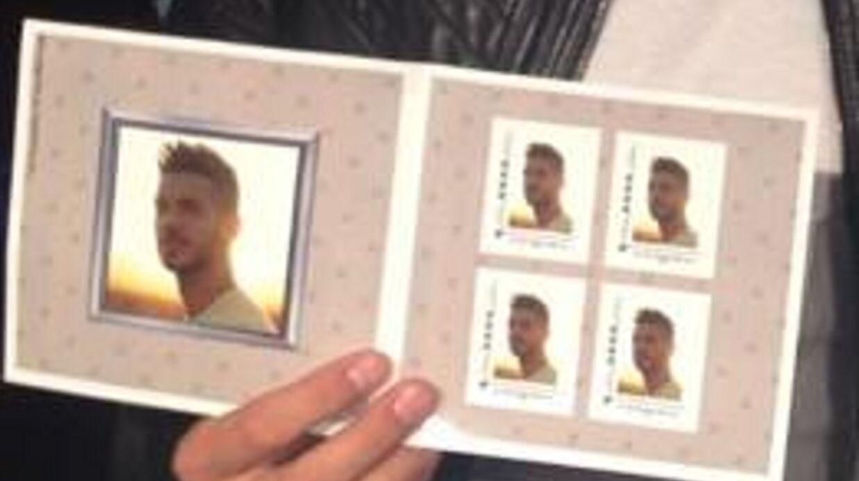 PHOTO Des timbres à l'effigie de M Pokora