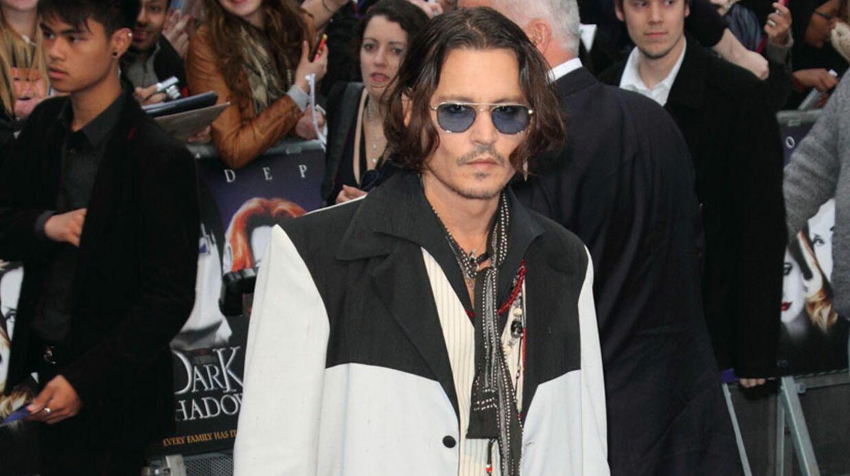 Johnny Depp critique la saga Twilight