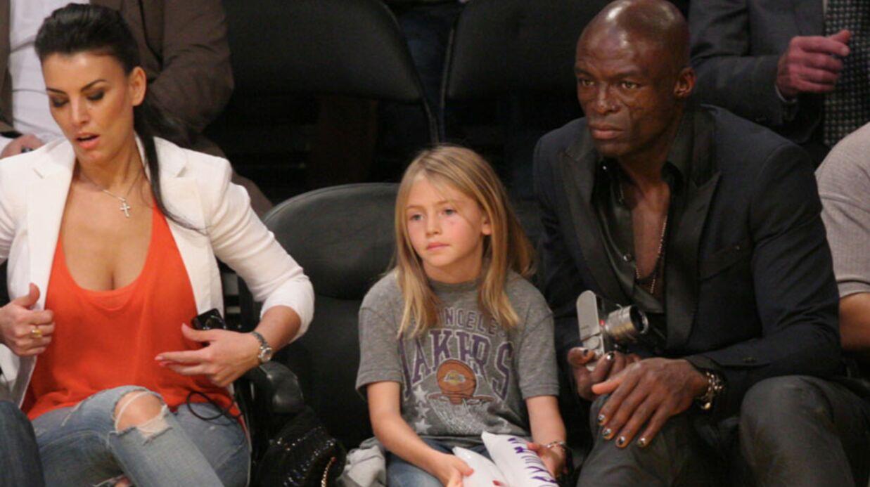 PHOTOS Seal emmène sa fille Leni à un match de basket