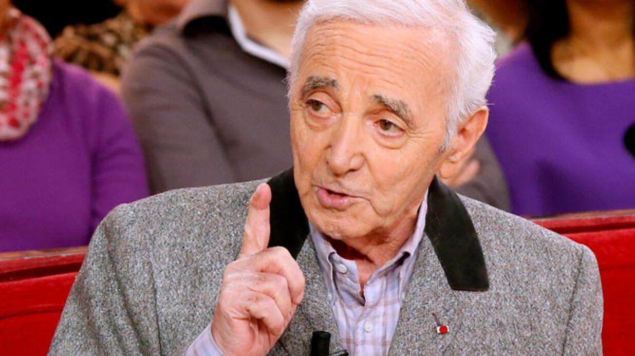 Pour échapper au fisc, Charles Aznavour a versé de l'argent à des politiques