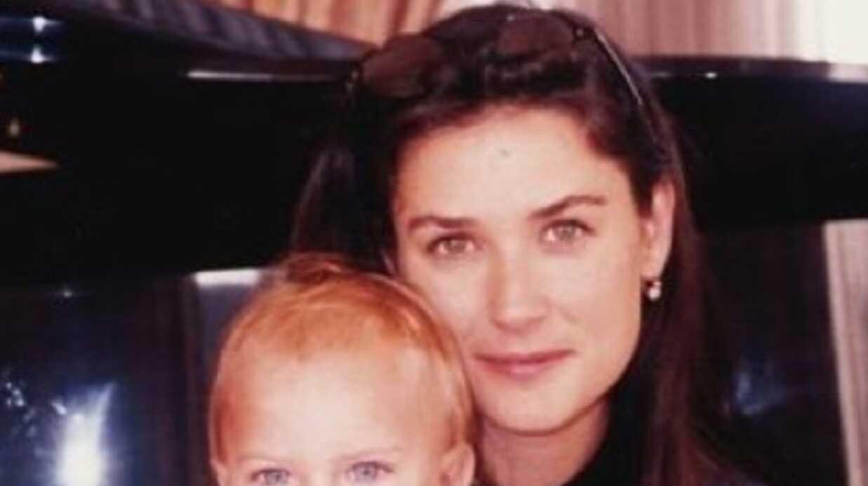 PHOTO Demi Moore: l'émouvant message de sa fille Tallulah Belle pour son anniversaire