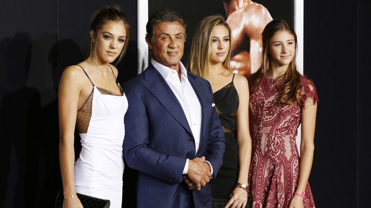 Sylvester Stallone: ses filles élues Miss Golden Globes 2017