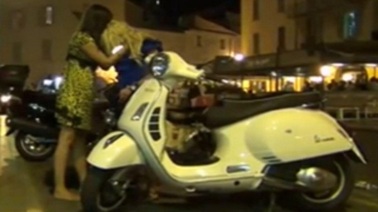 VIDEO Tara Reid se fait écraser par une mobylette à Saint-Tropez