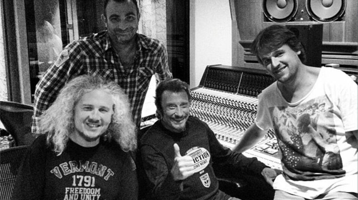 Johnny Hallyday retourne en studio