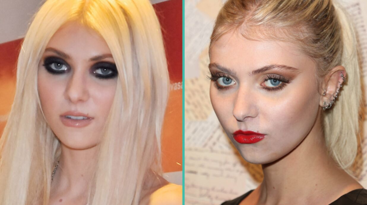 LOOK L'in­croyable trans­for­ma­tion de Taylor Momsen