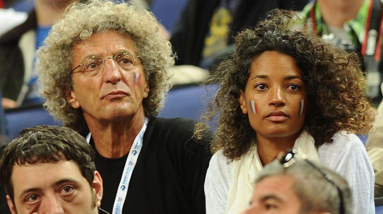 PHOTO Lilian Thuram et Karine Le Marchand participent aux JO…depuis les tribunes