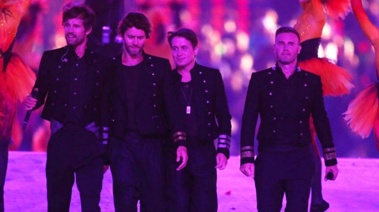 Gary Barlow (Take That) sur la scène des JO malgré le drame