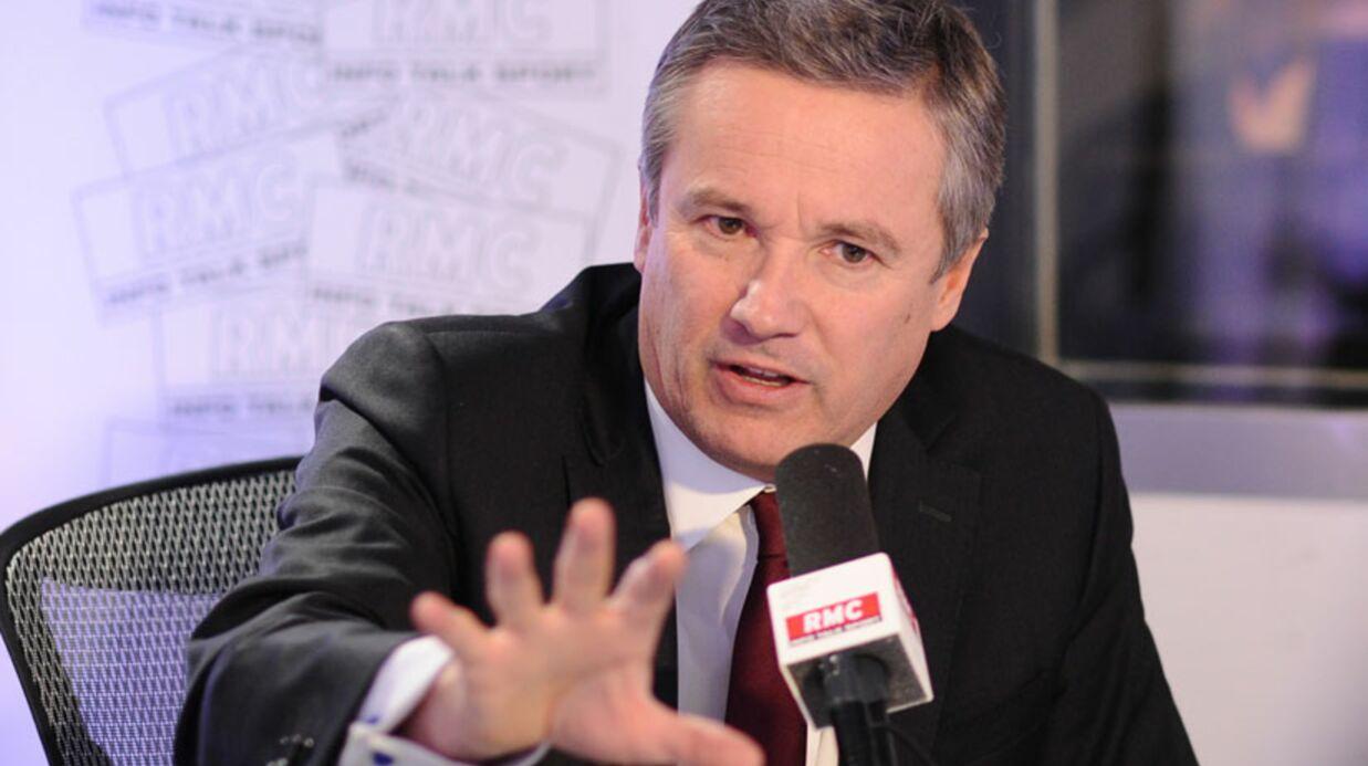 Nicolas Dupont-Aignan: pendant son discours, ses voisins font l'amour