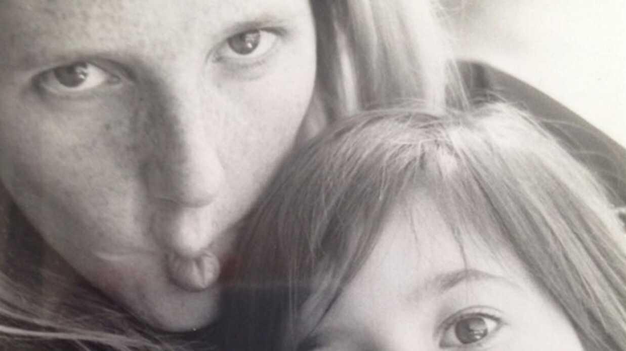 Sandrine Kiberlain publie un adorable cliché de Suzanne, la fille qu'elle a eue avec Vincent Lindon