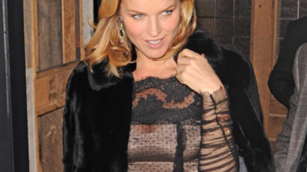 Eva Herzigova: nouvelle grossesse pour le top model