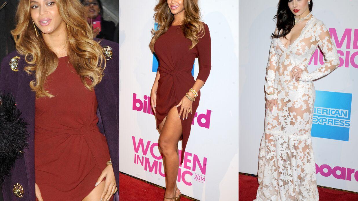 DIAPO Beyoncé ultra sexy, Charli XCX en transparence pour les Billboard Women