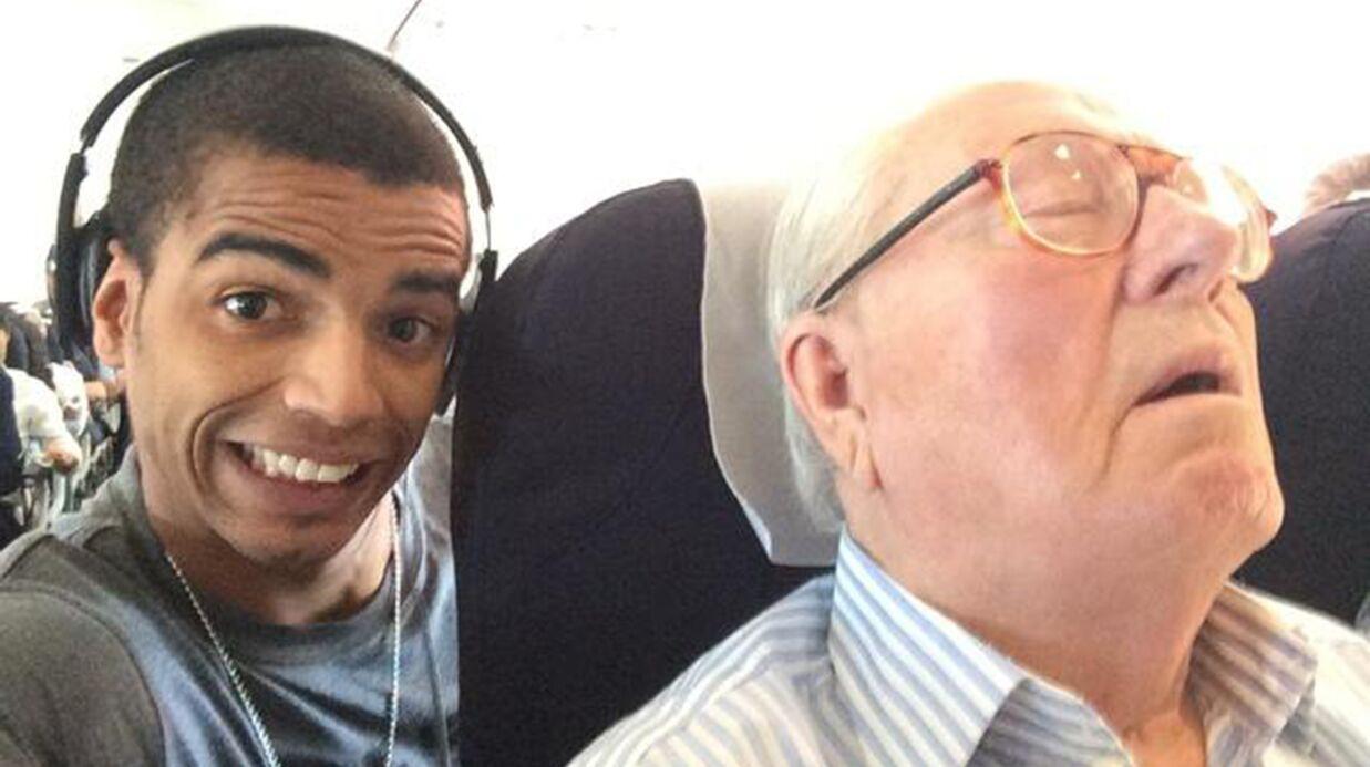 PHOTO Brahim Zaibat poste un drôle de selfie sur les réseaux sociaux