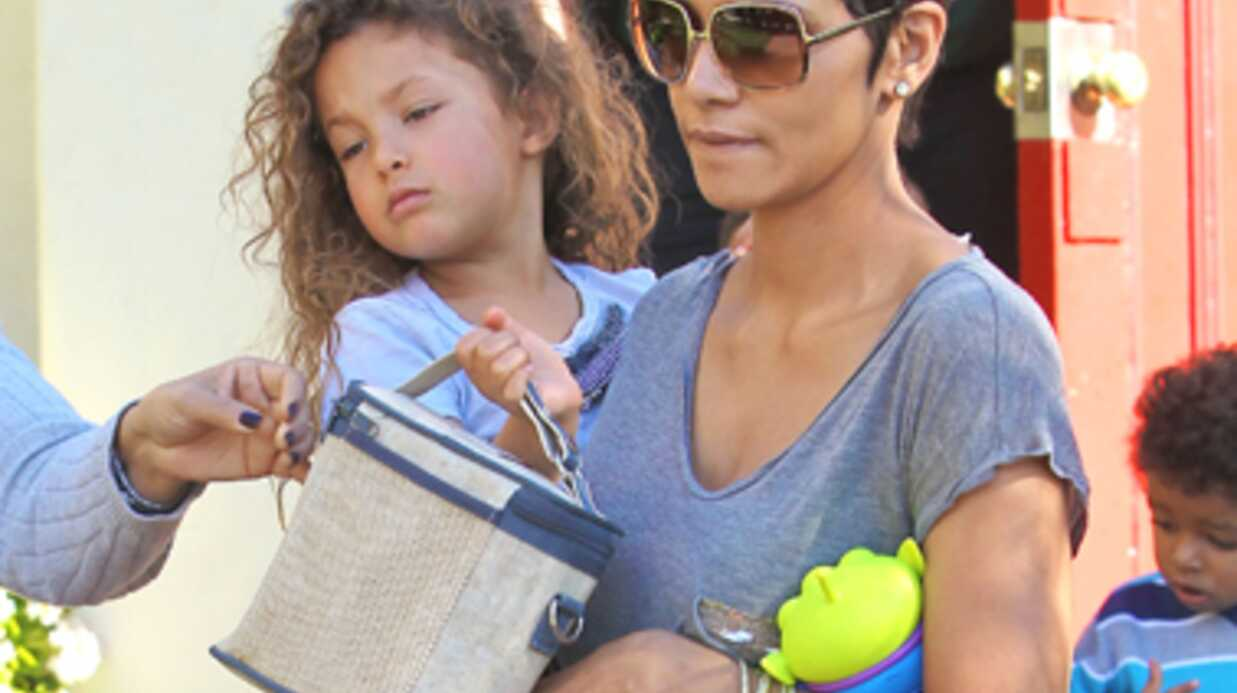 À 3 ans, la fille d'Halle Berry a peur de son père