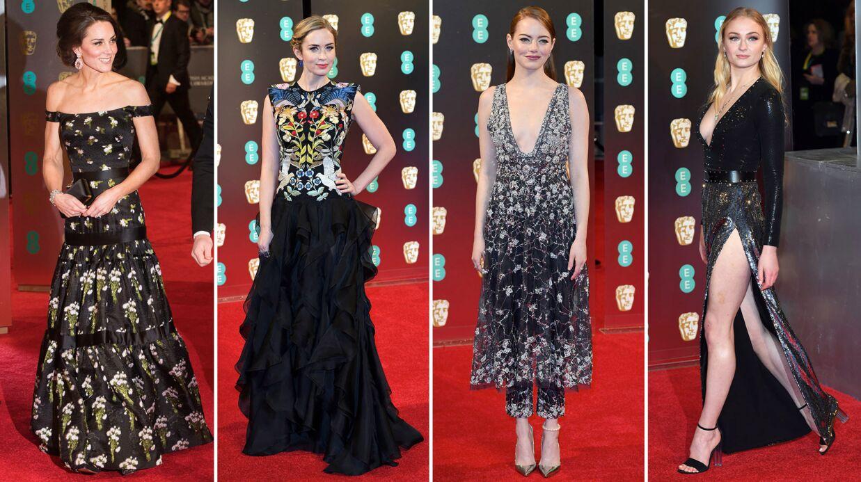 PHOTOS Bafta 2017: Kate Middleton sublime, Emily Blunt et Emma Stone radieuses