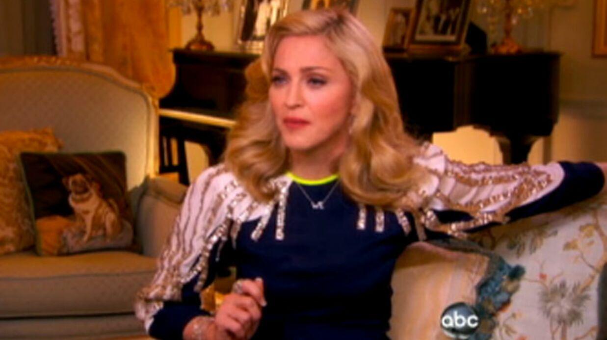 VIDEO Madonna évoque sa relation avec [CENSURÉ]
