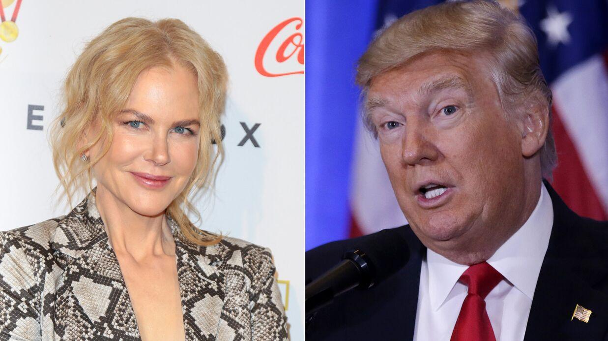 Nicole Kidman demande aux Américains de soutenir Donald Trump