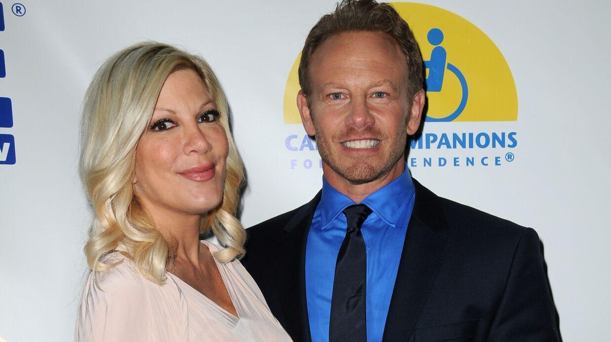 PHOTO Beverly Hills: les retrouvailles entre Tori Spelling et Ian Ziering!