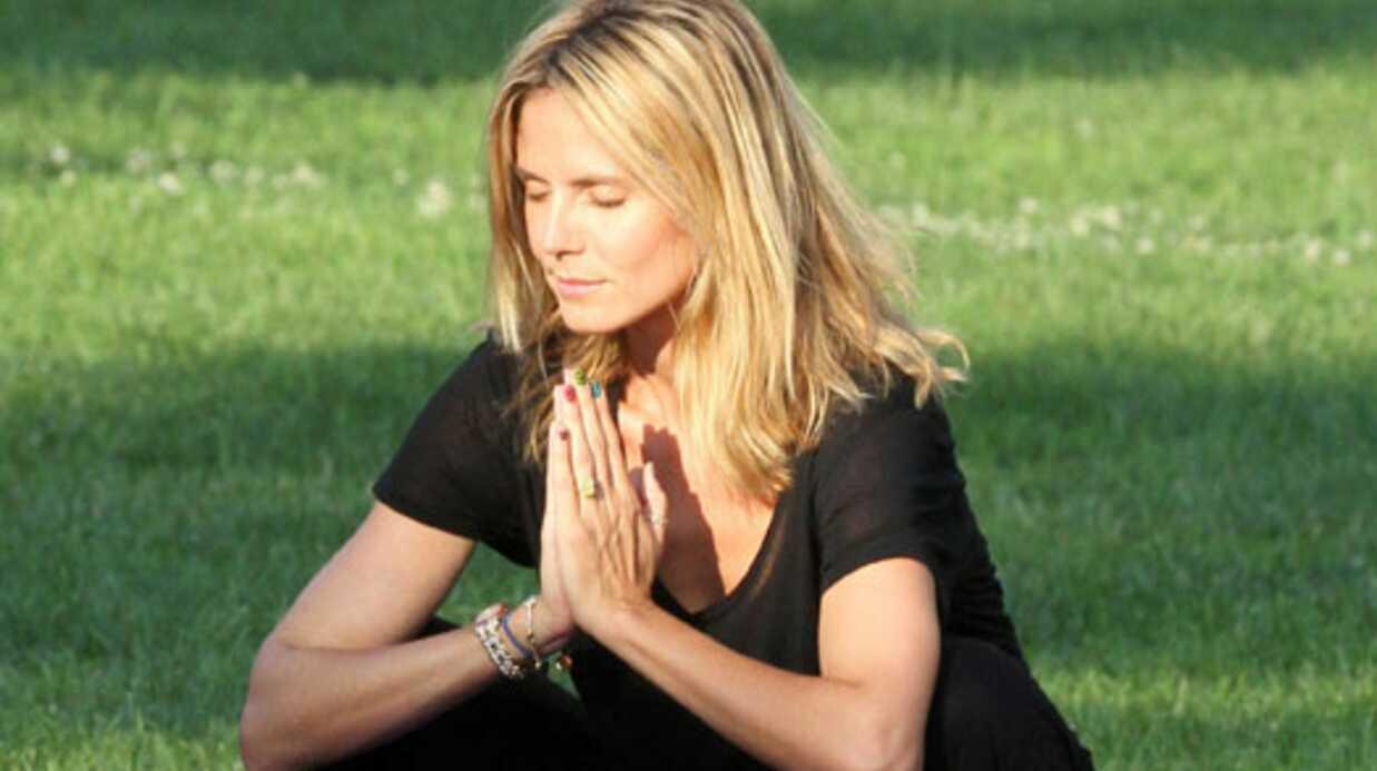 DIAPORAMA Heidi Klum en mauvaise posture