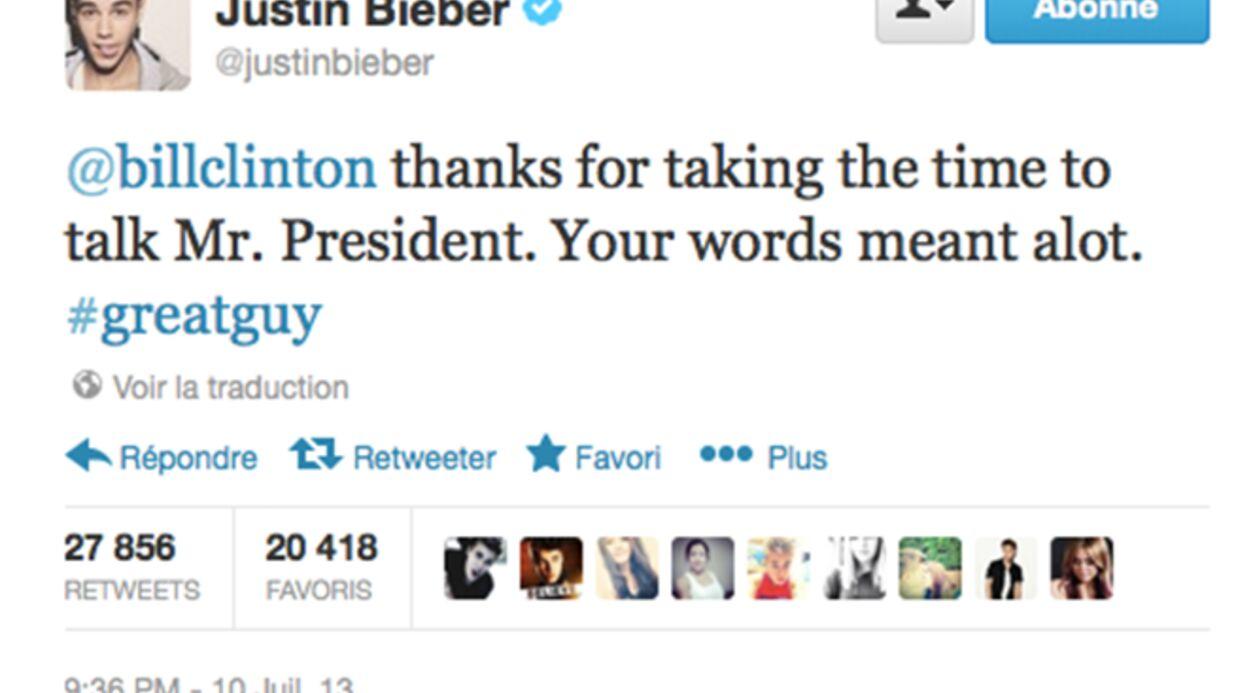 Justin Bieber regrette d'avoir fait pipi devant tout le monde