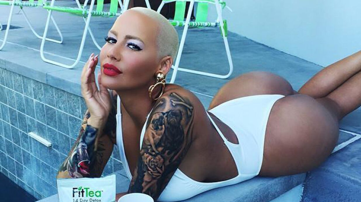 PHOTO Sexy, Amber Rose s'affiche dans un maillot-string