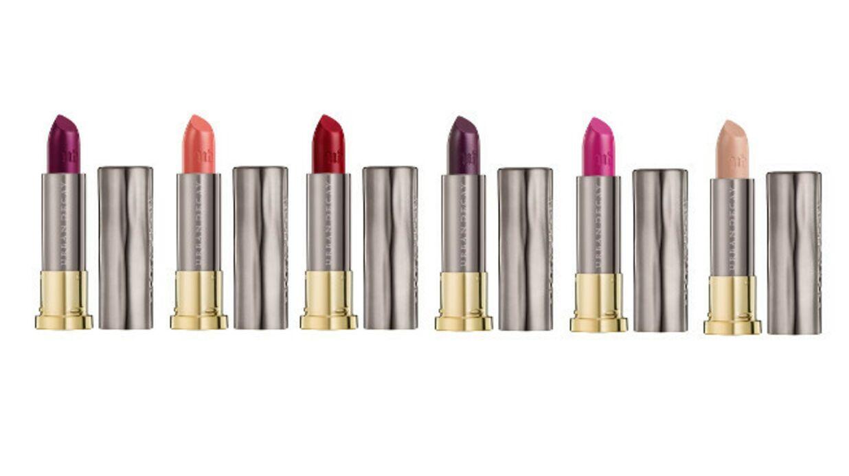 Vice Lipstick, le rouge à lèvres couleur-soin par Urban Decay
