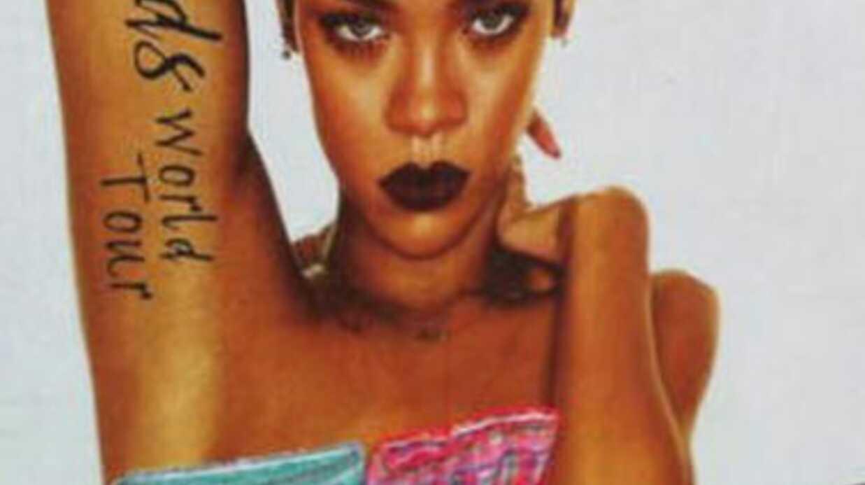 PHOTOS Rihanna «rhabillée» sur ses affiches de concert en Irlande