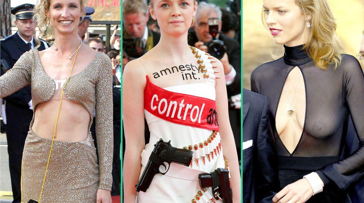 DIAPO Festival de Cannes: les tenues les plus délirantes portées ces dernières années